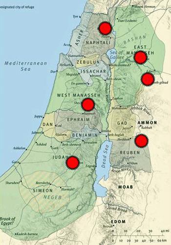 City of Refuge - map