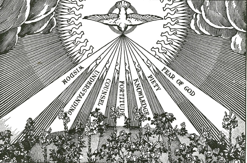 Seven-fold Holy-Spirit