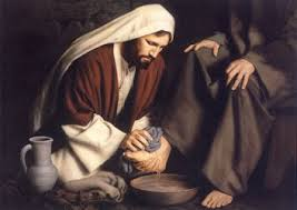 Jesus washing feet