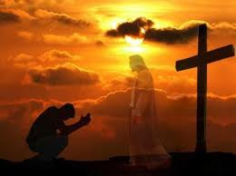 Cross, Jesus, man