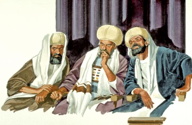 3 Elders Judging (Church Discipline)