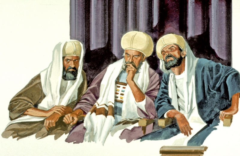 3 Elders Judging (Church Discipline)