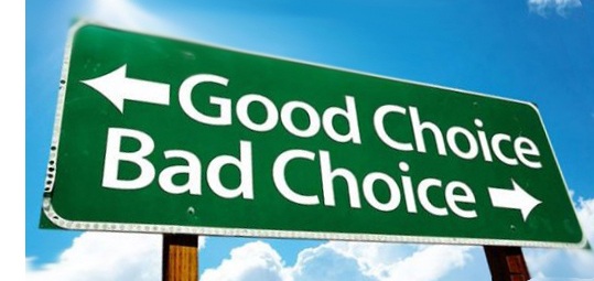 The Choices We Make | DickTaylorBlog