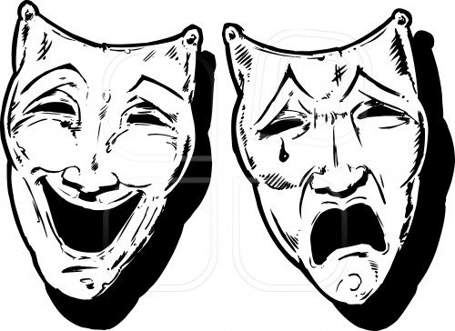 Theatre-Masks-Happy-And-Sad-Laugh-And-Cry