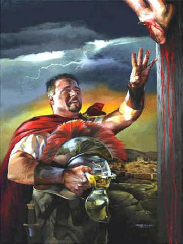 Roman soldier and Jesus 2