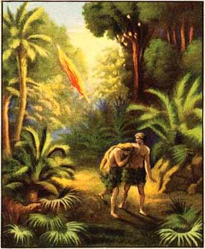 Sin - fleeing the garden of eden