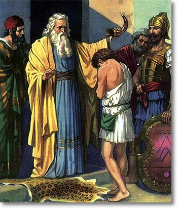 Samuel Choosing David As God's King