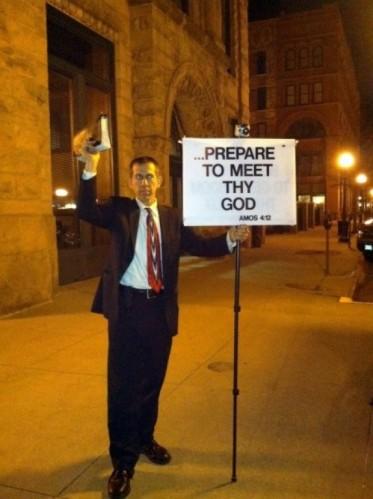 Street Corner Preaching