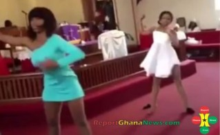 Dancing in church 2
