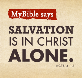 Salvation in Christ alone (2)