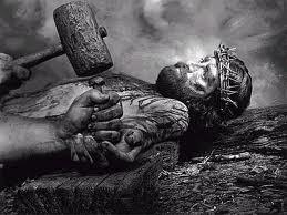 Jesus nailed