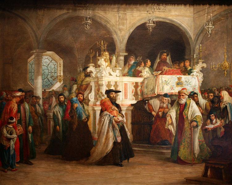 Proselytes in Synagogue